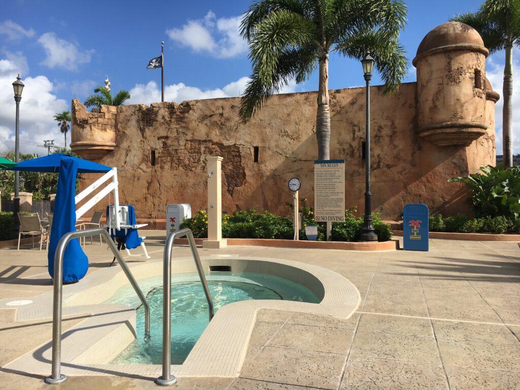 Hot Tub Disney's Caribbean Beach Resort