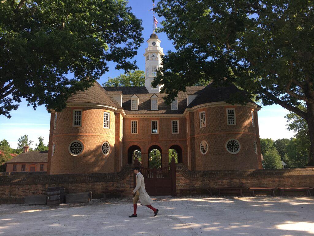 Colonial Williamsburg VA Capitol