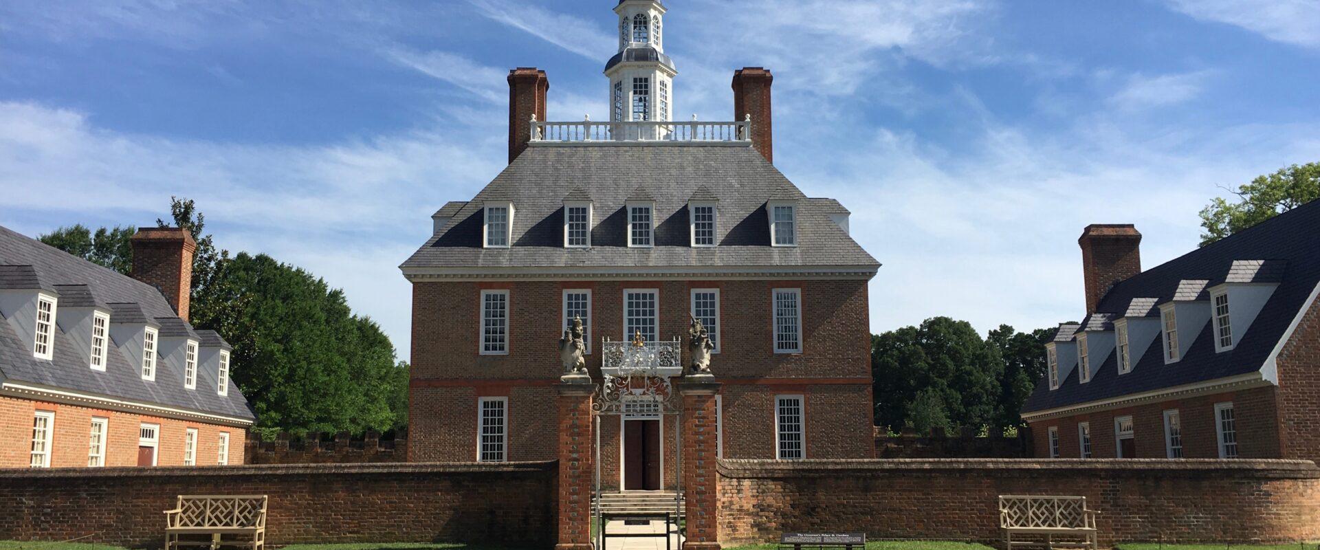 Governors Palace Colonial Williamsburg VA