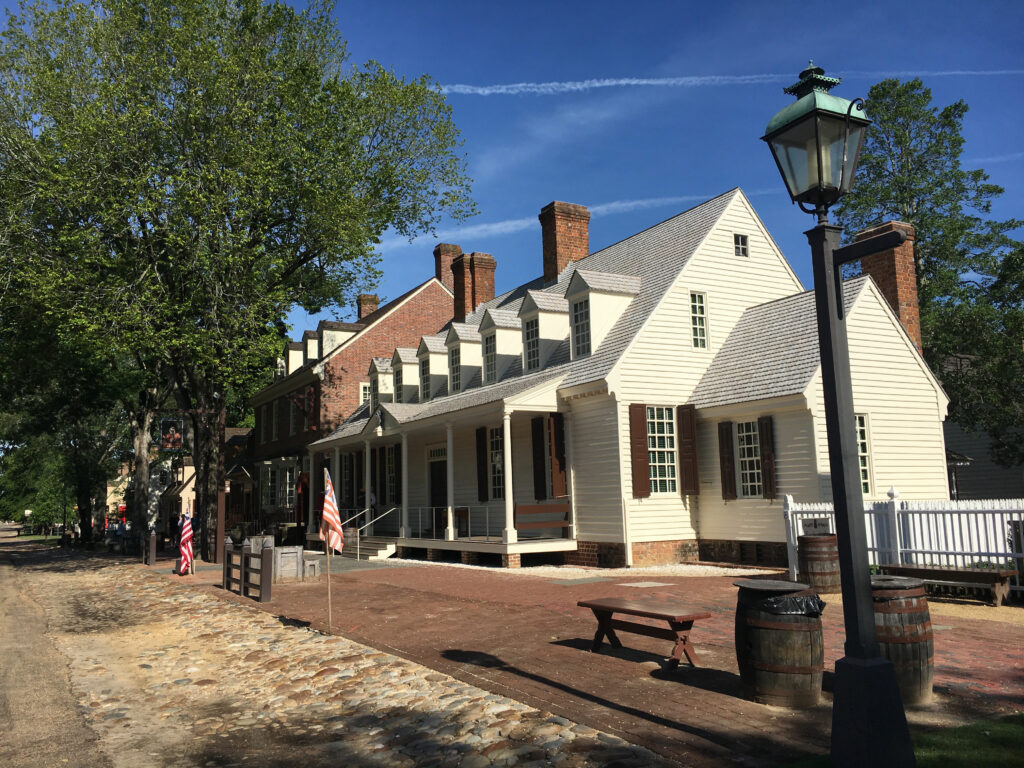 Duke of Gloucester Street Colonial Williamsburg VA