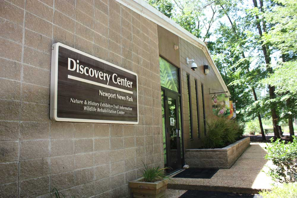Newport News Park Discovery Center Outside