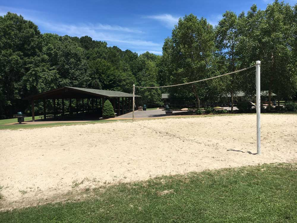 Newport News Park Volleyball Court and Picnic Shelter