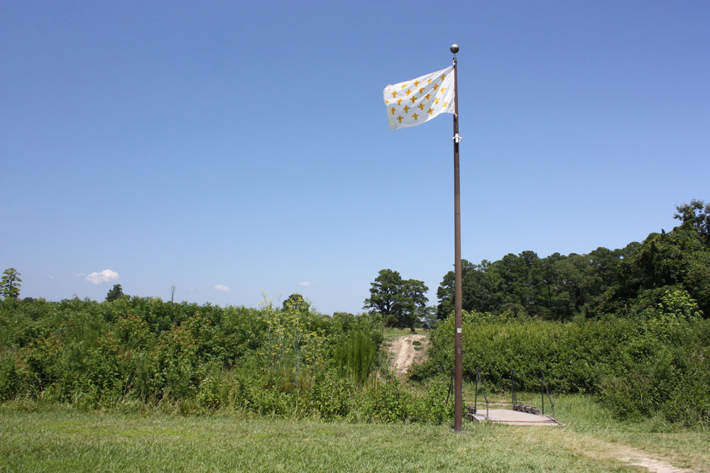Yorktown Battlefield Driving Tour French Flag