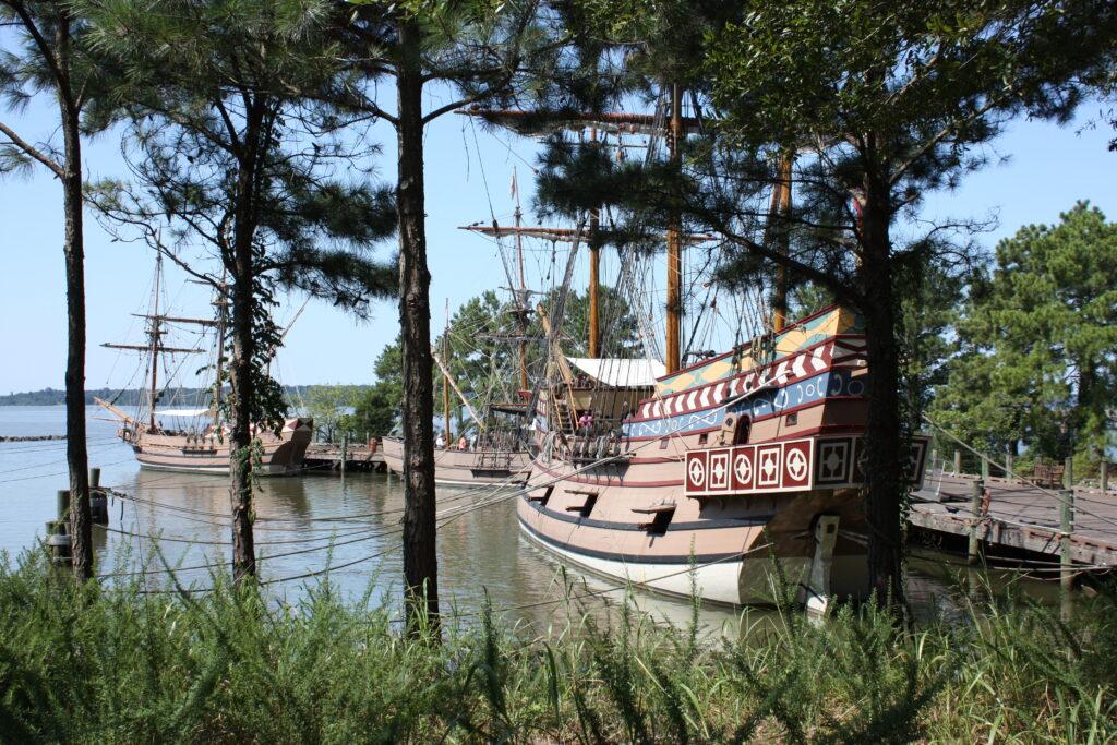 Jamestown Settlement Museum Jamestown VA Jamestown Ships