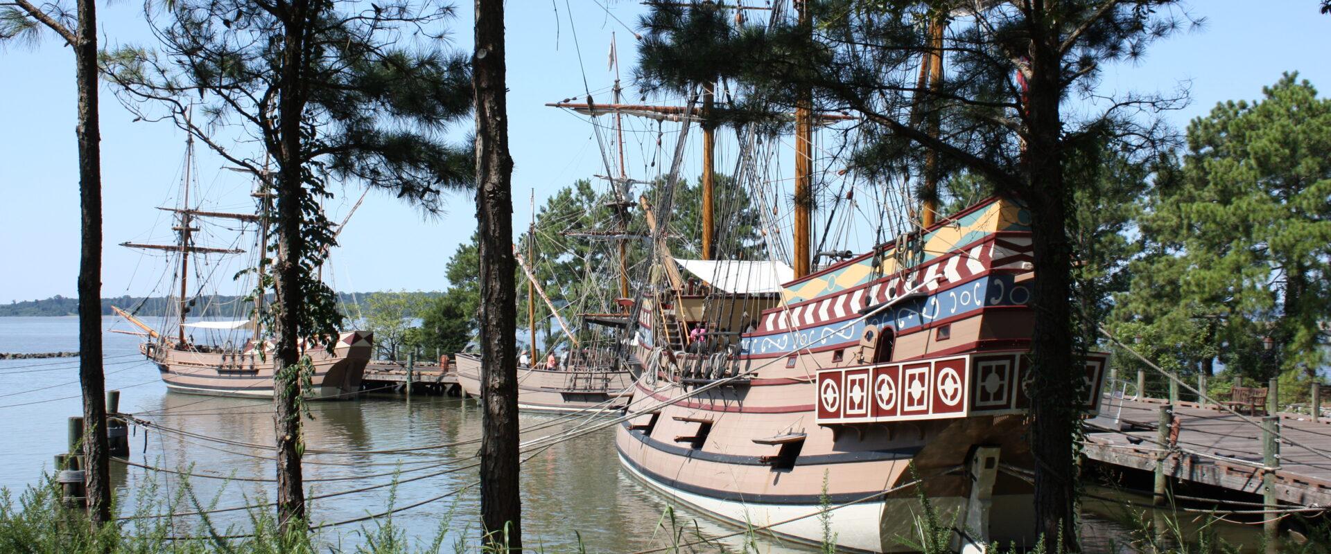 Jamestown Settlement Jamestown Ships