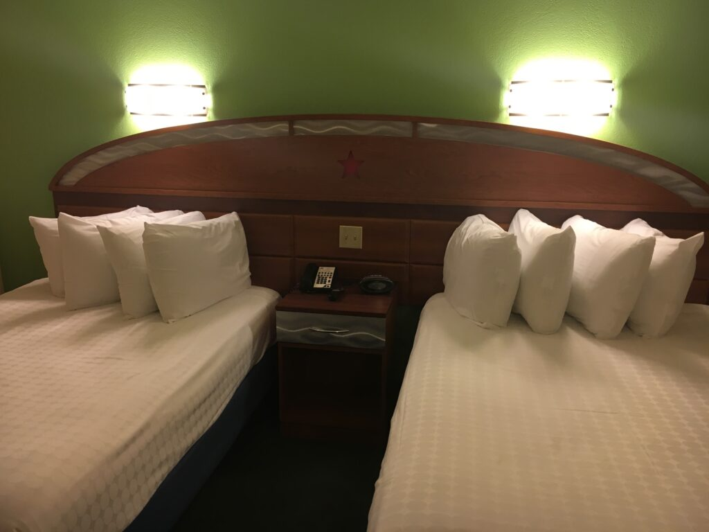 Disneys All Star Music Resort Two Double Bed Room