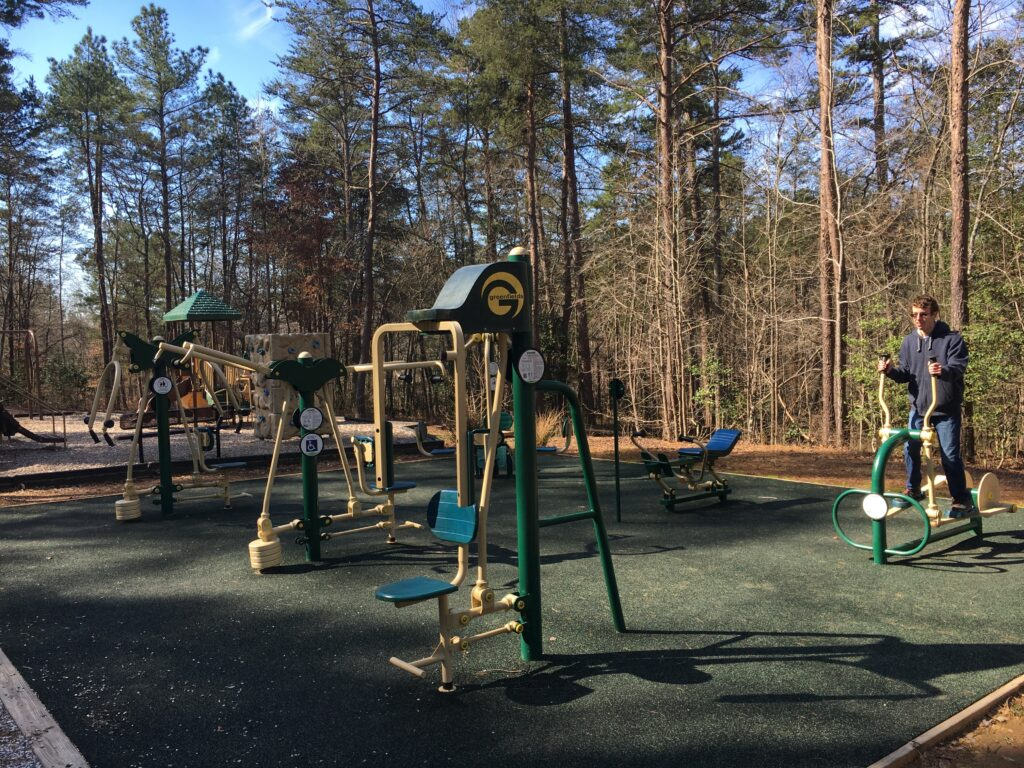 Don Carter State Park Outdoor Fitness Playground