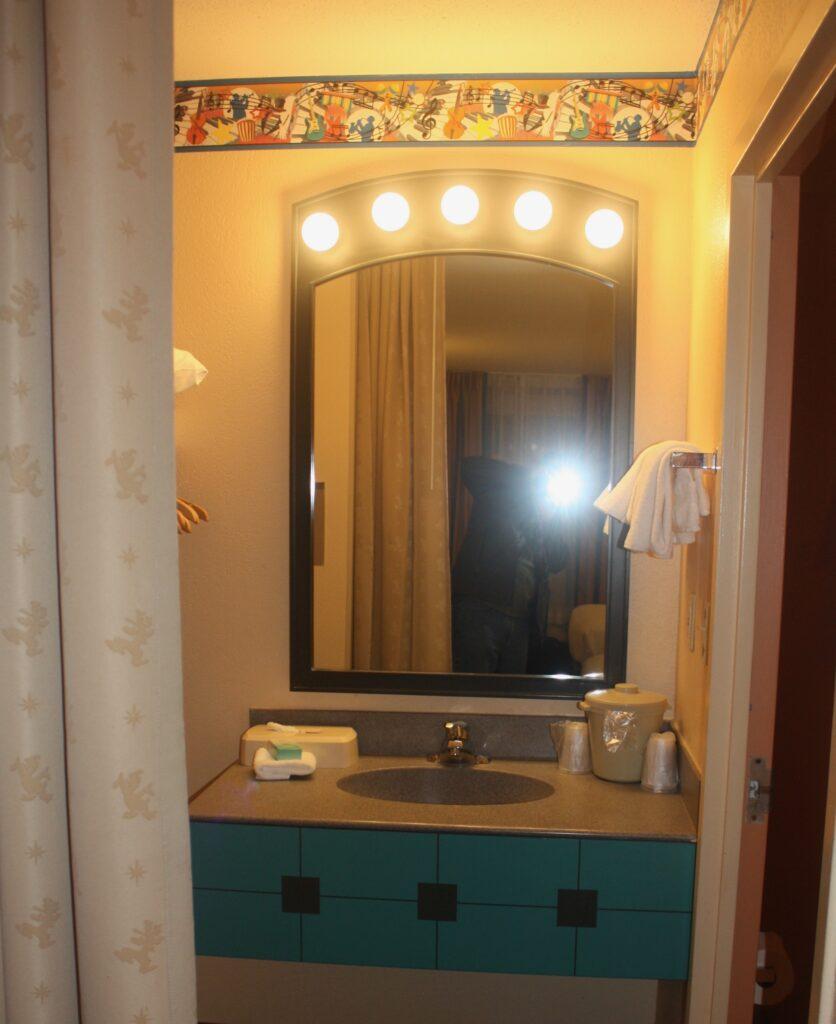 Disneys All Star Music Resort Bathroom One Sink