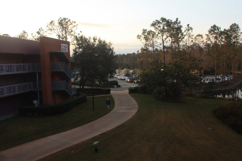 Disneys All Star Music Resort Parking Lot