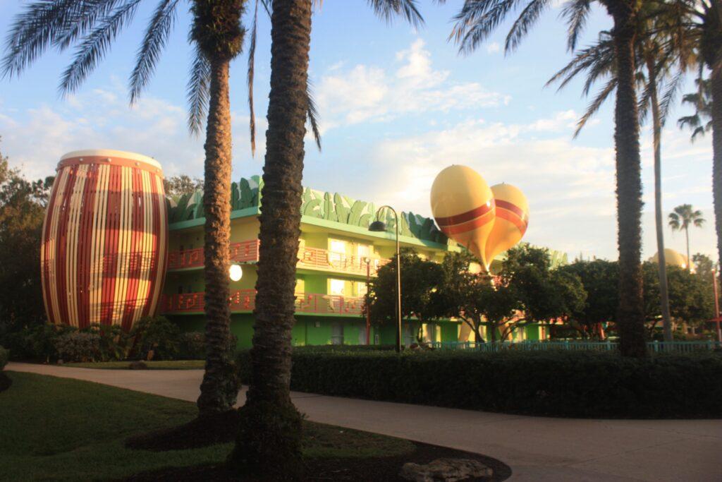 Disneys All Star Music Resort Calypso Building