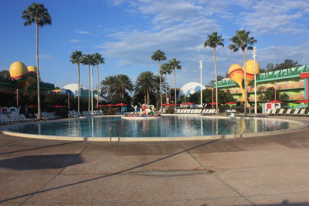 Disneys All Star Music Resort Calypso Pool