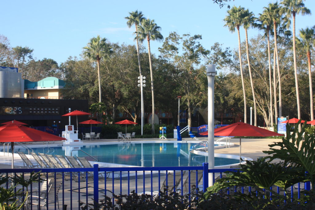 Disneys All Star Music Resort Piano Pool