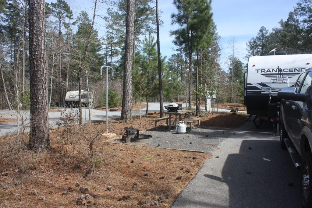 Don Carter State Park Campsite Amenities