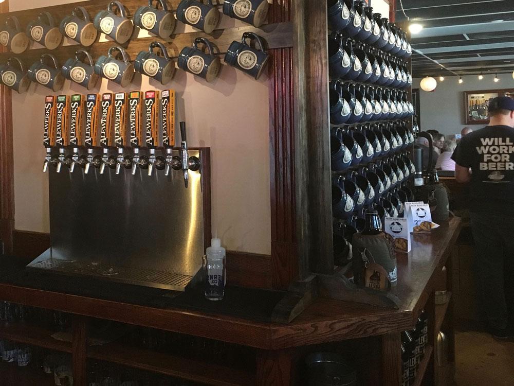 Virginia Peninsula Breweries Alewerks Taproom Williamsburg Craft Brewery