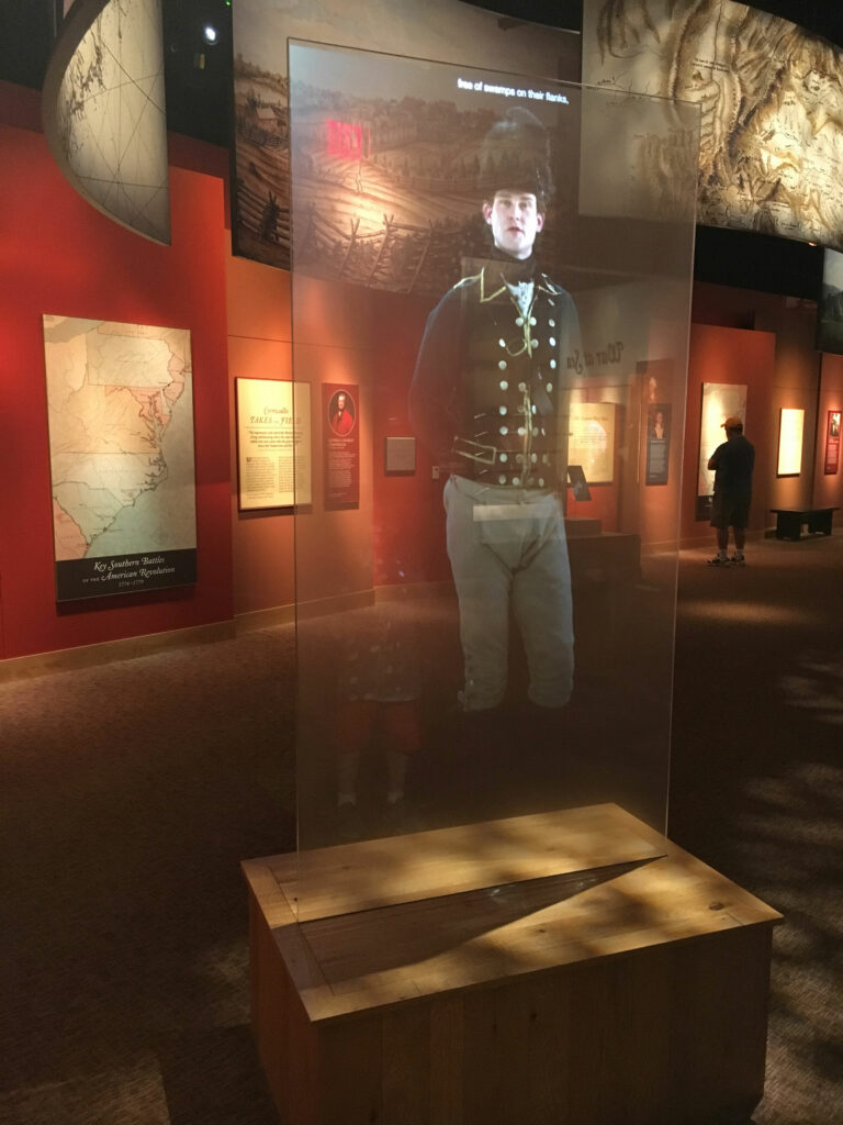 American Revolution Museum At Yorktown Video Exhibit