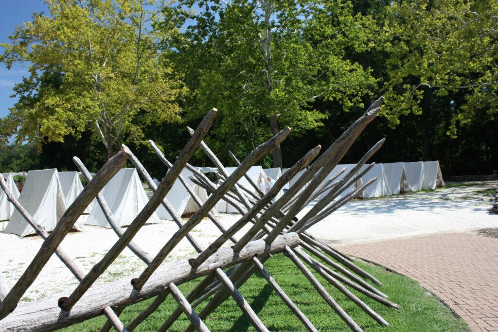 American Revolution Museum At Yorktown Tent Camp