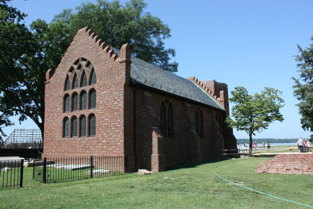 Historic Jamestowne Jamestown VA 1907 Church