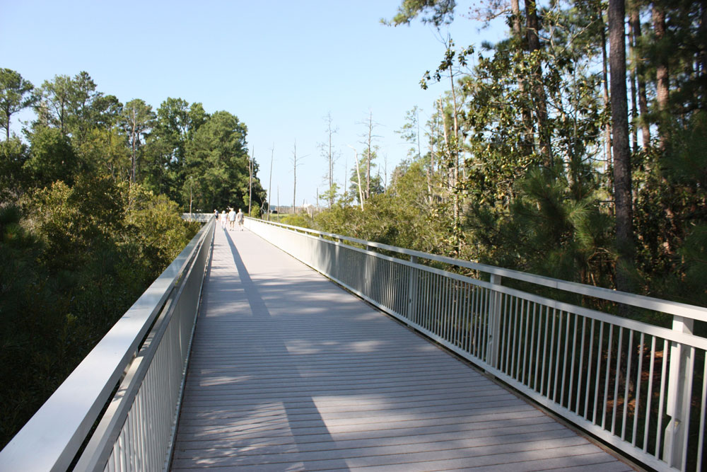 Historic Jamestowne Jamestown VA Walking Trail Bridge