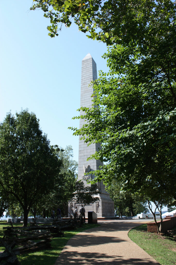 Historic Jamestowne Jamestown VA Tercentennial Monument Obelisk