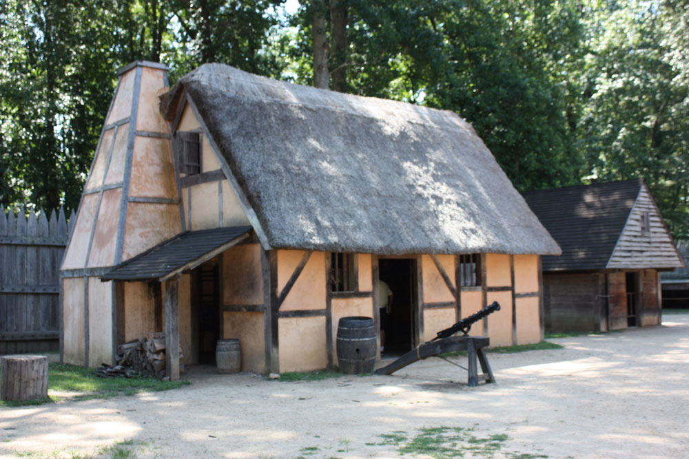 Jamestown Settlement Museum Jamestown VA Jamestown Fort Building