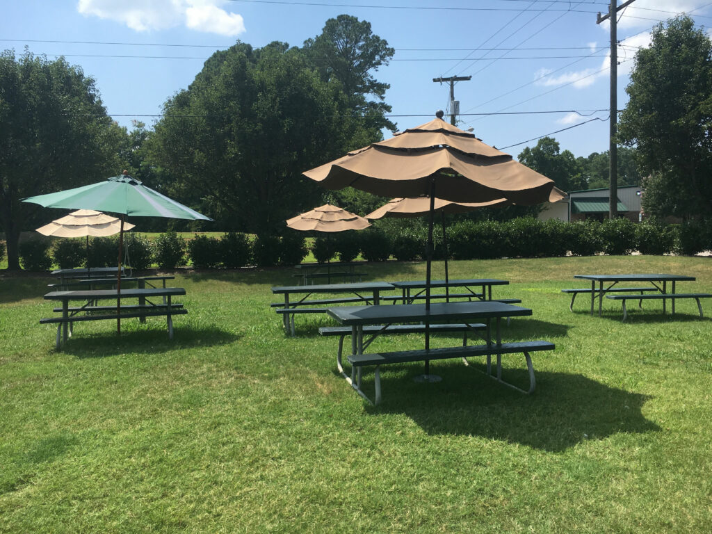Virginia Peninsula Breweries St George Brewing Co Outdoor Seating Hampton Craft Brewery