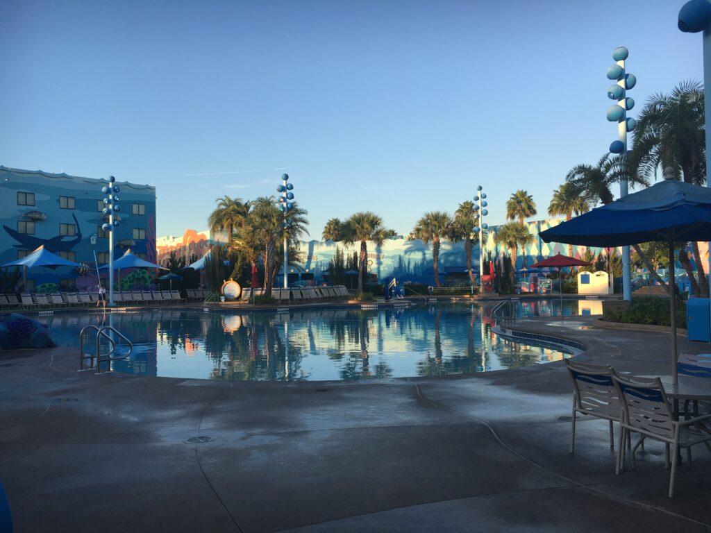 Disneys Art of Animation Big Blue Pool
