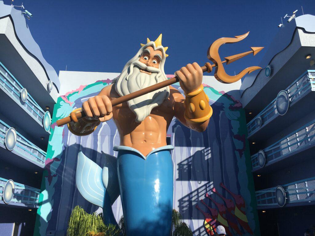 Disneys Art of Animation Little Mermaid Building King Triton