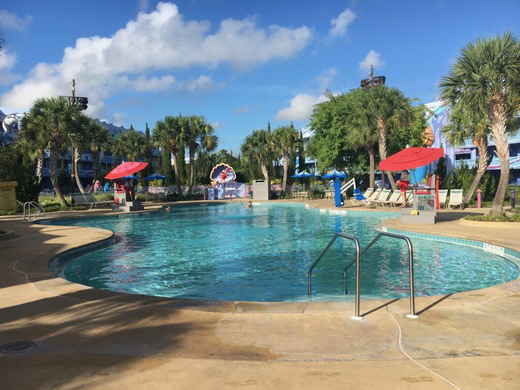Disneys Art of Animation Resort Little Mermaid Pool