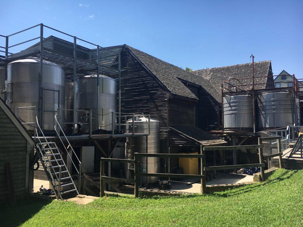 Williamsburg Winery Storage Tanks