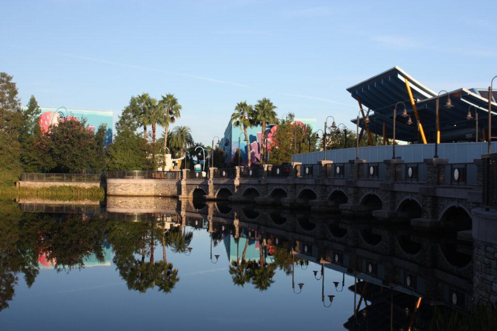 Disneys Skyliner Boarding Area Art of Animation Resort Pop Century Resort