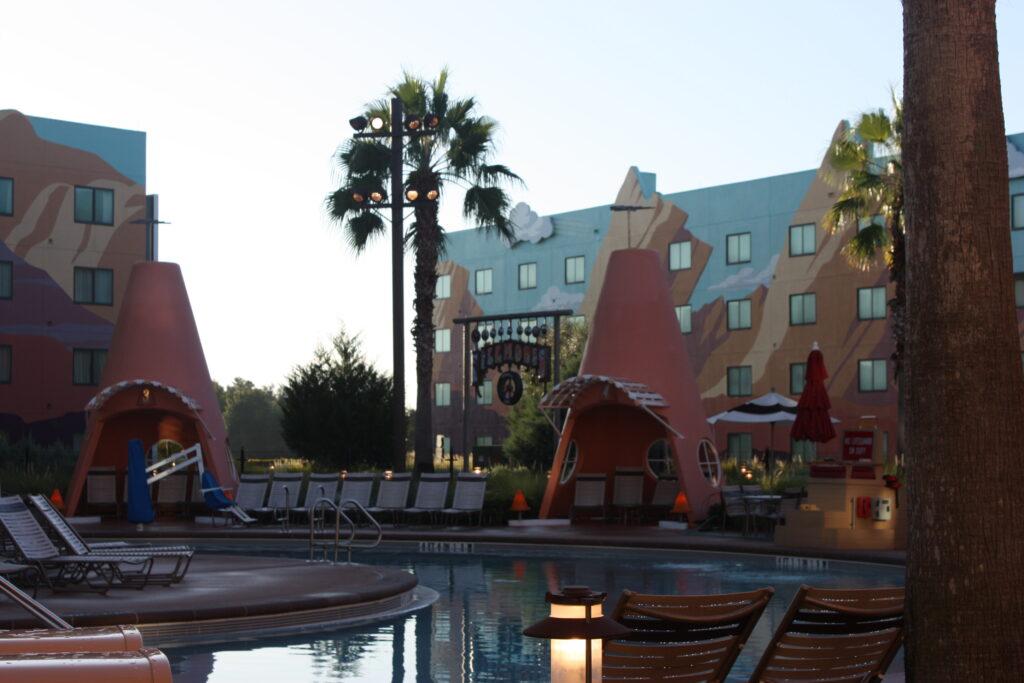 Disneys Art of Animation Resort Cars Cozy Cone Motel Pool