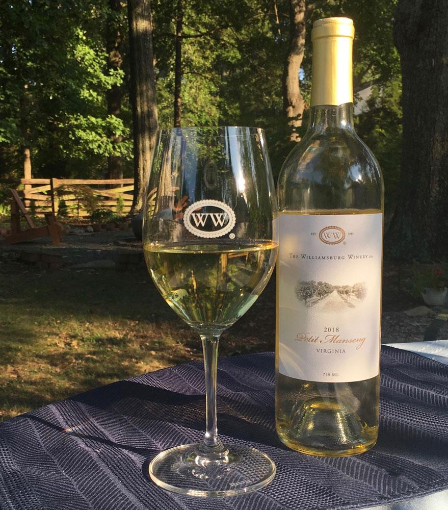 Williamsburg Winery Souvenir Wine Glass Williamsburg VA Attraction