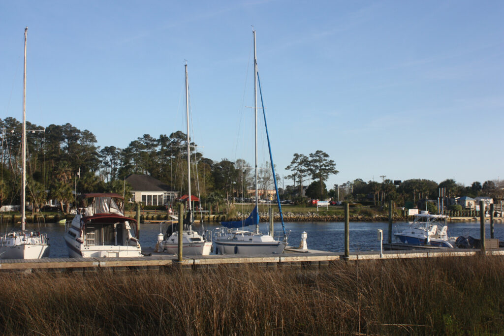 NMB North Myrtle Beach RV Resort Boat Slips On The Intercoastal Waterway