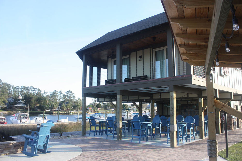 NMB North Myrtle Beach RV Resort Waterfront Seating