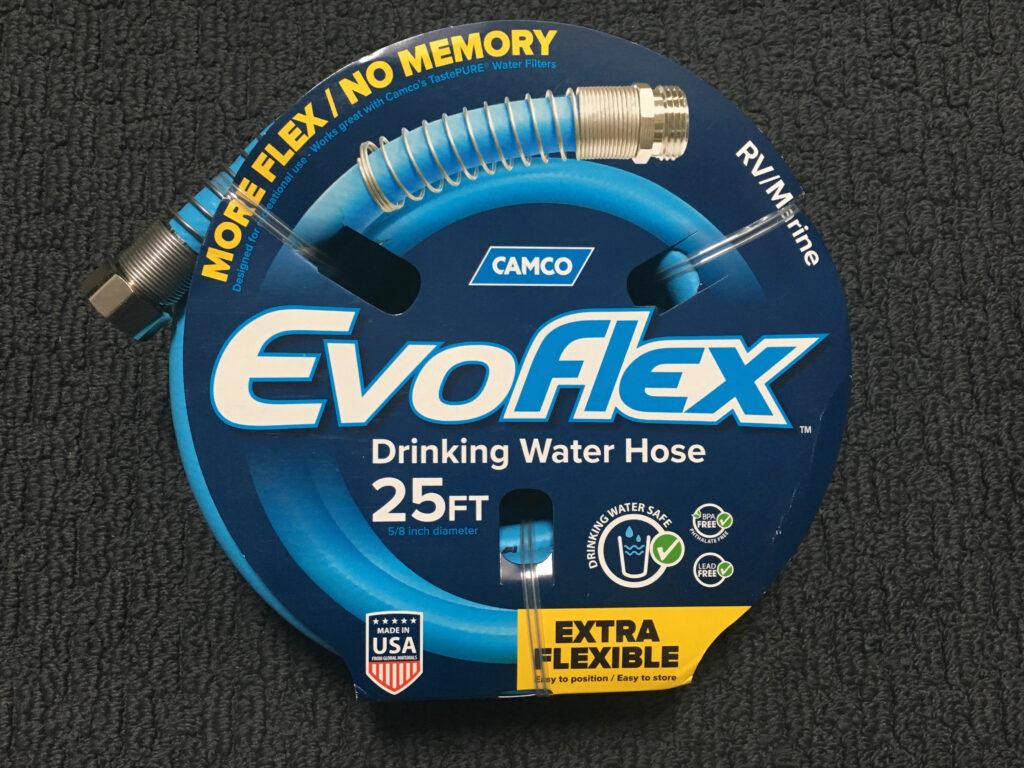 Camco EvoFlex RV drinking water safe hose camper hose marine hose freshwater hose