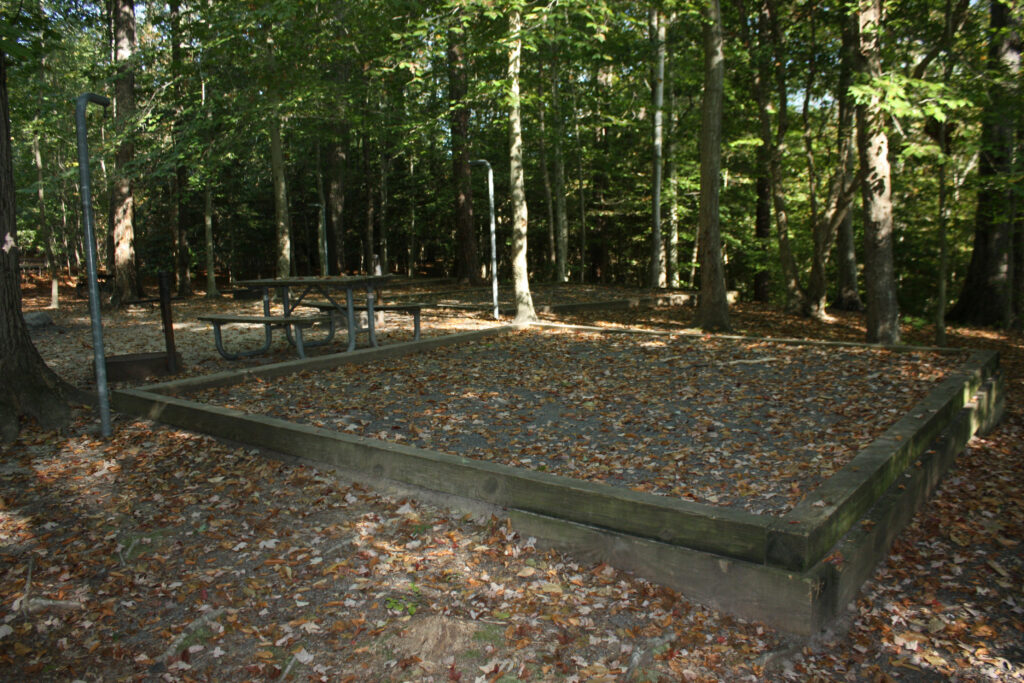 chippokes plantation state park campground group site tent pad