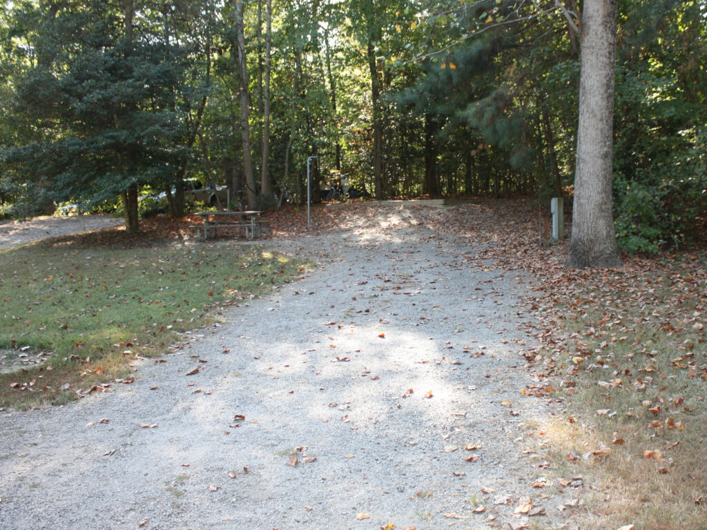chippokes plantation state park campground a loop camp site