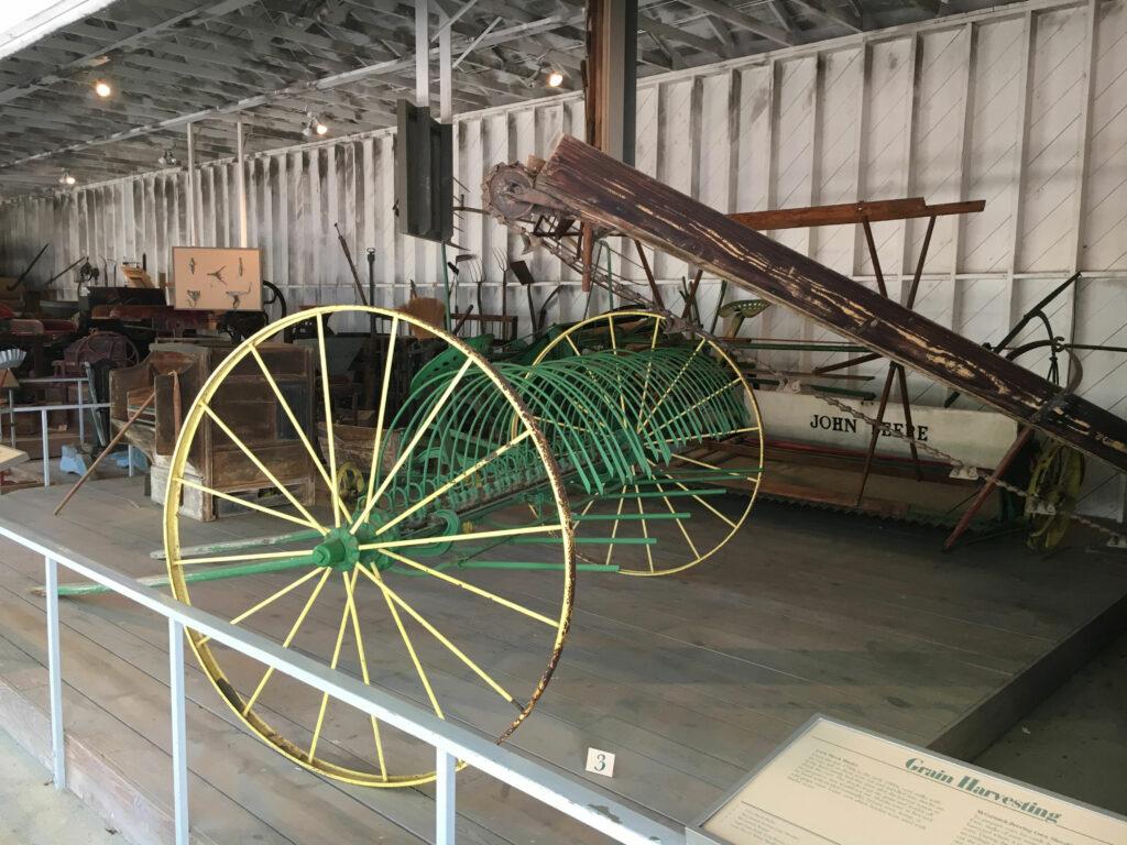 chippokes plantation state park farm museum harvester