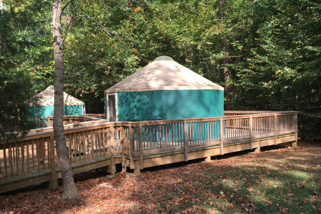 chippokes plantation state park yurts