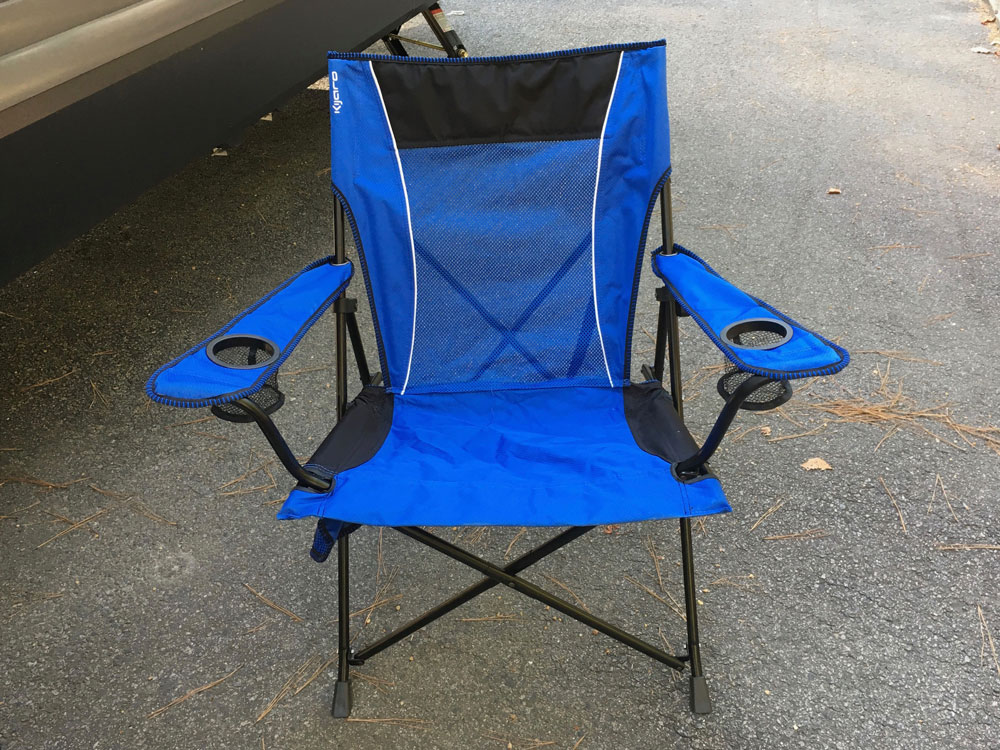 Kijaro camping chair folding camp chair in a bag