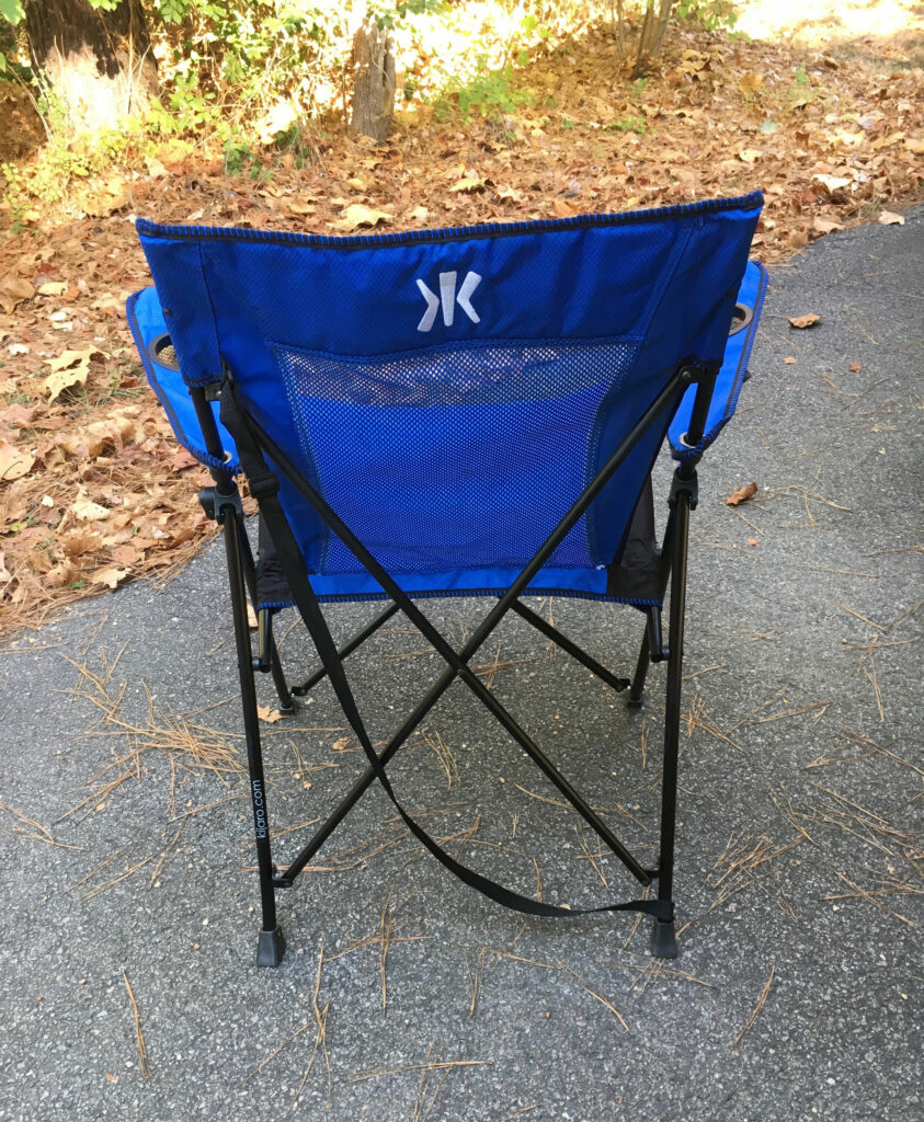 kijaro camping chair foldable camp chair in a bag