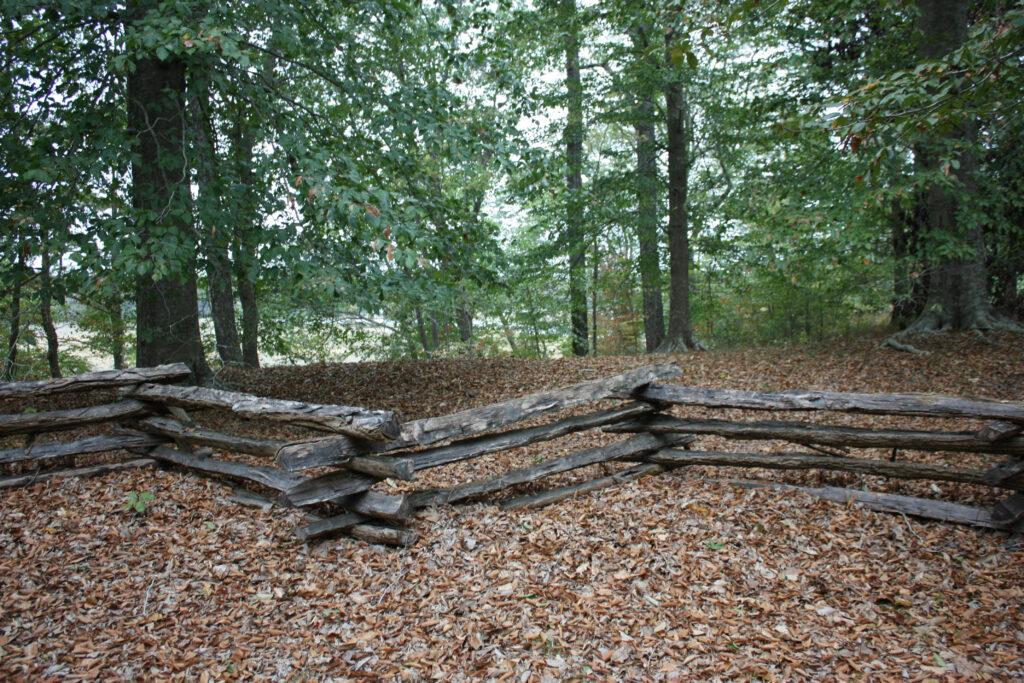 smith fort plantation surry county va earthworks