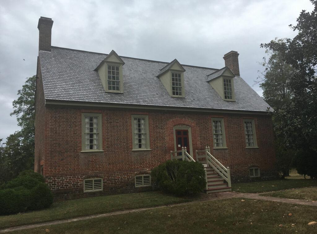 smith fort plantation surry county va house