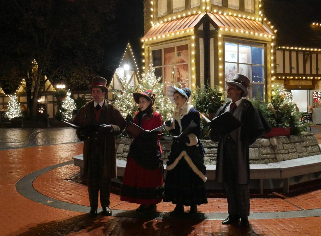Busch Gardens Williamsburg Christmas Town Carolers