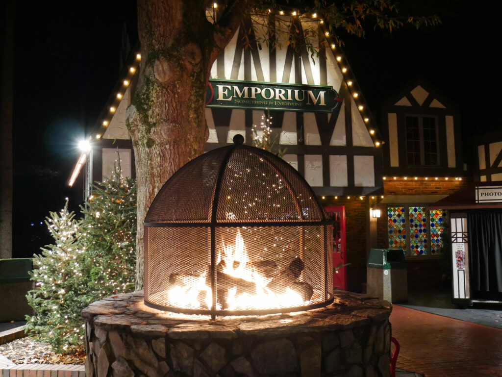 Busch Gardens Williamsburg Christmas Town Fire