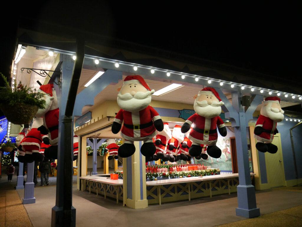 Busch Gardens Williamsburg Christmas Town Games Santa