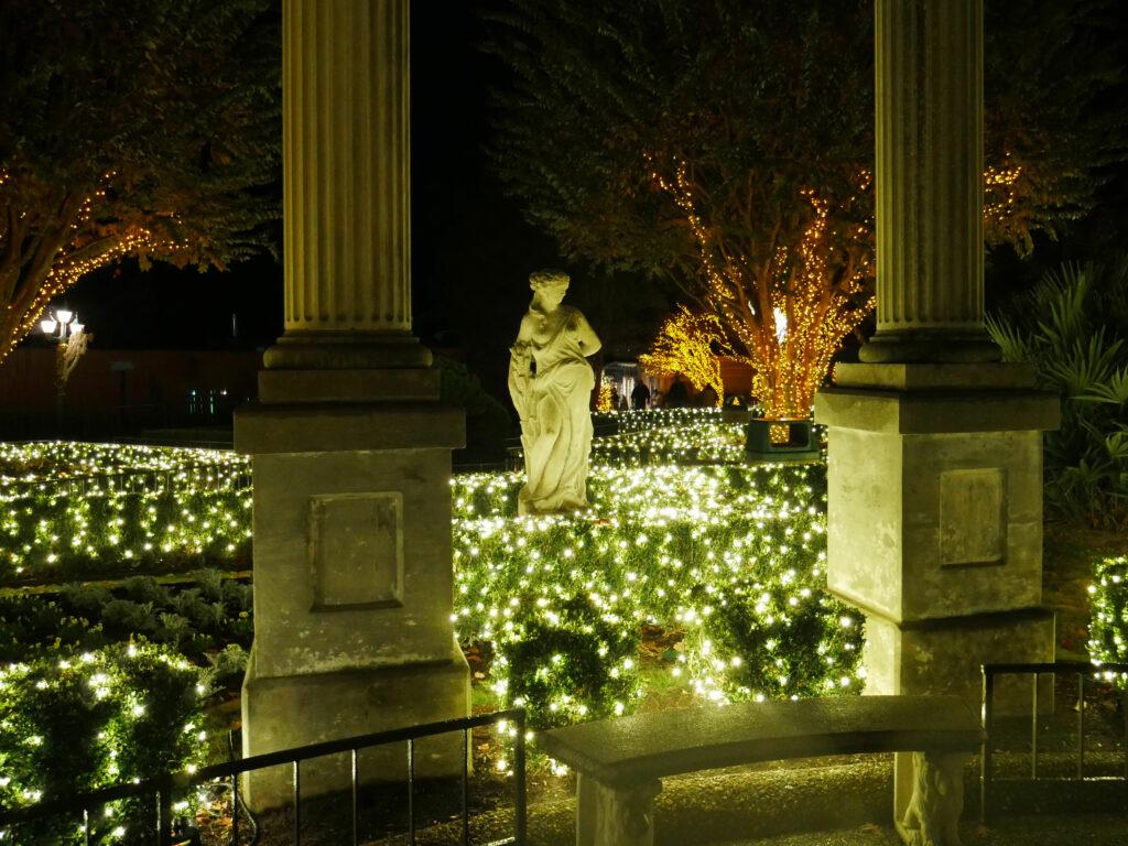 Busch Gardens Williamsburg Christmas Town Italian Garden