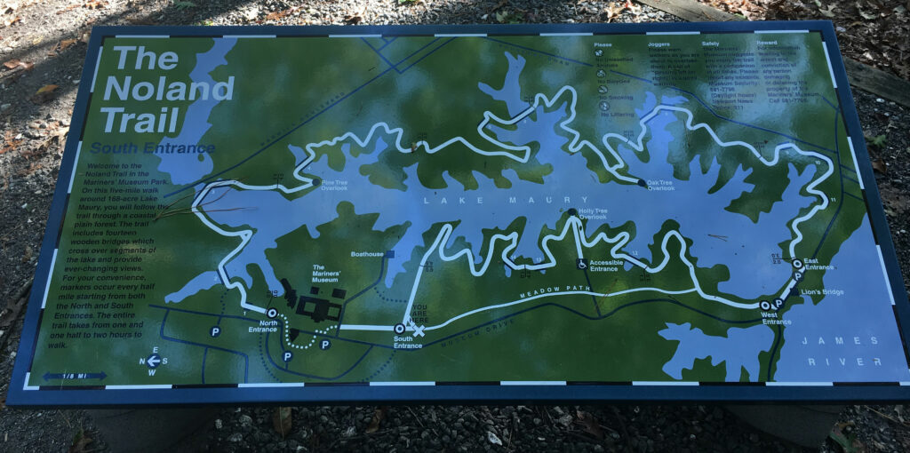 Noland Trail Map Newport News VA