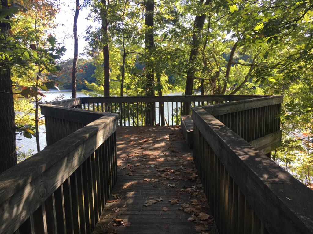 Noland Trail Newport News VA Overlook