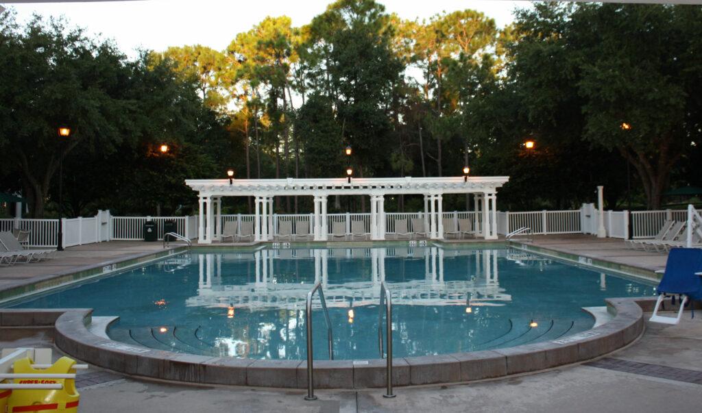 Disney Port Orleans Riverside Pool Near Room
